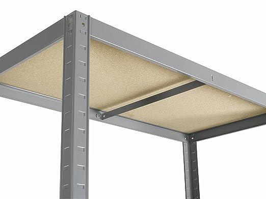 Avasco 5400431601008 - Estantería con 5 estantes de metal/madera 176 x 90 x 40 cm: Amazon.es: Industria, empresas y ciencia