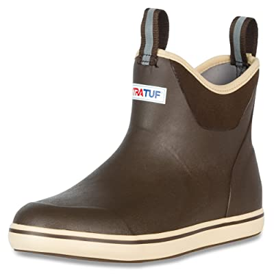 """XTRATUF Performance Series 6"""" Men's Full Rubber Ankle Deck Boots: Home Improvement"""