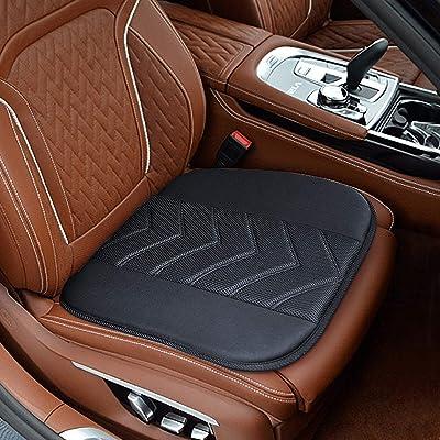 Elantrip Car Seat Cushion Pad,Comfort Memory Foam Seat Cushion with Non Slip Bottom for Auto Car Supplies Office Chair: Home & Kitchen