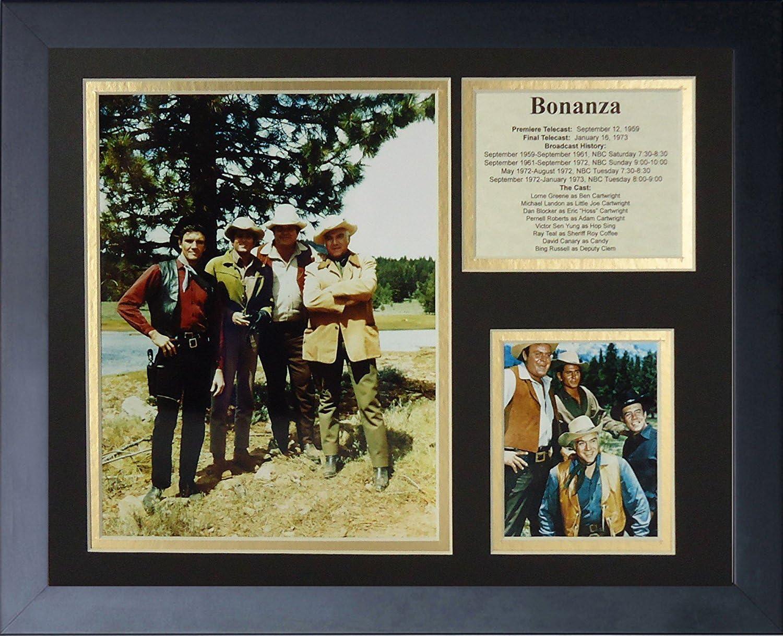 Legends Never Die Bonanza Framed Photo Collage, 11 by 14-Inch