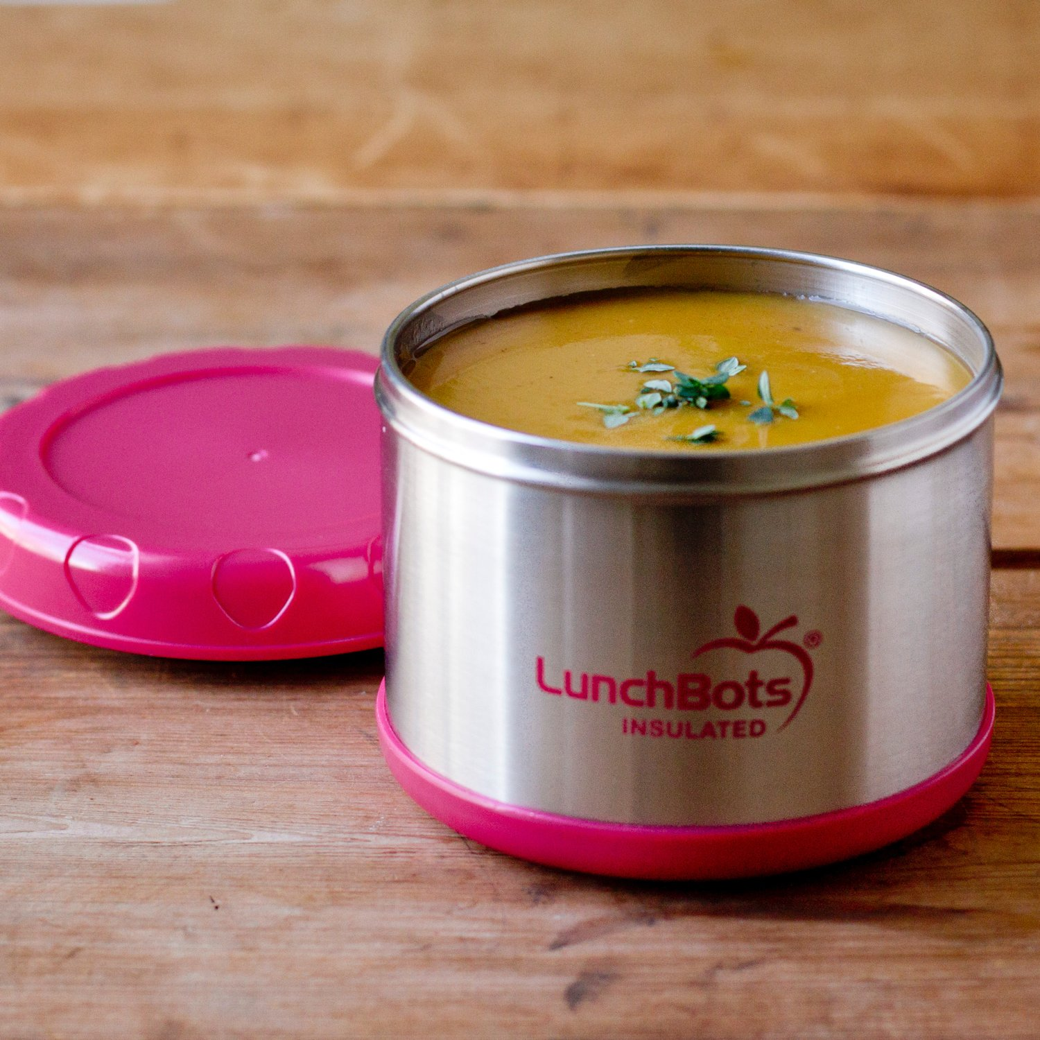 Amazon LunchBots Thermal 16 Oz All Stainless Steel Interior