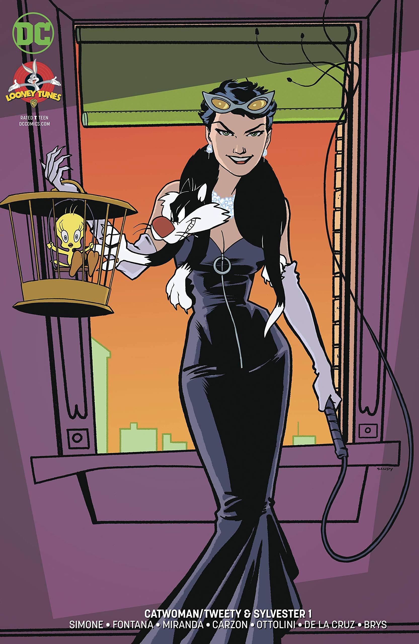 Catwoman Tweeter /& Sylvester #1 First Print
