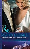 Powerful Greek, Housekeeper Wife (Mills & Boon Modern) (The Greek Tycoons Book 22)