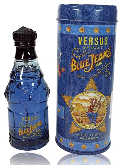 Versace Blue Jeans - Agua de colonia (75 ml)