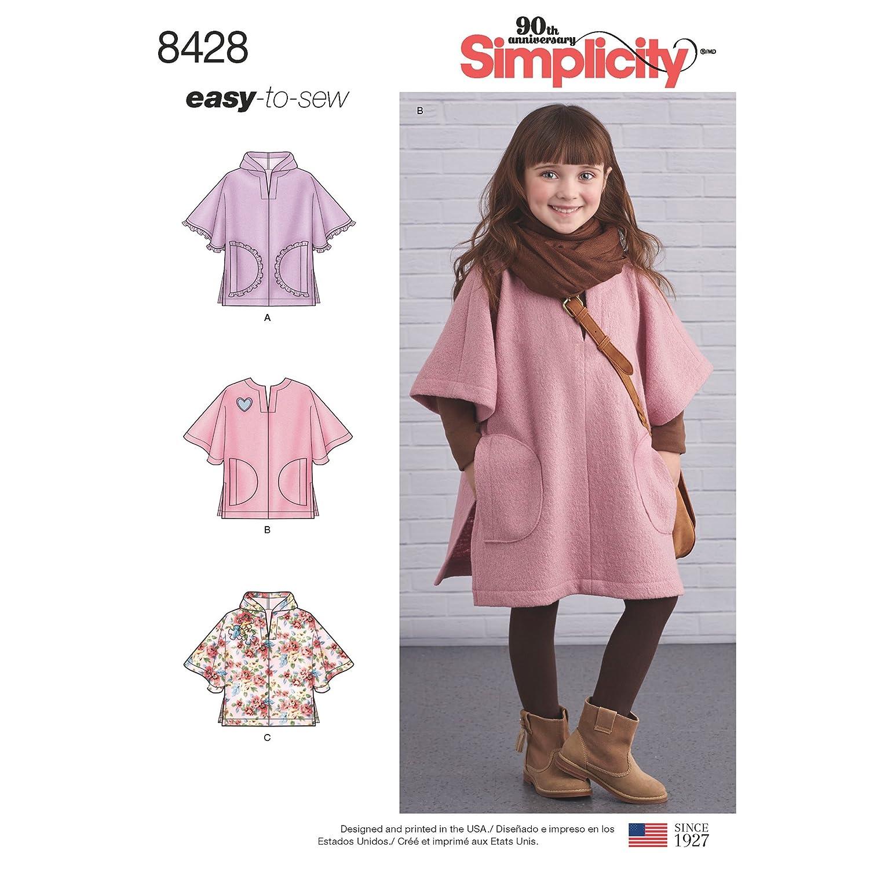 Simplicity - Vestido de Patrones creativos, Talla S, M, L y L ...