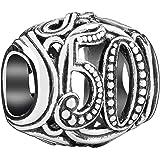 Chamilia Authentic Sterling Silver Milestones Charm 50 2010-3325