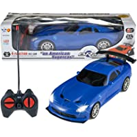 Wishkey Remote Control High Speed Racing American Super Car for Kids