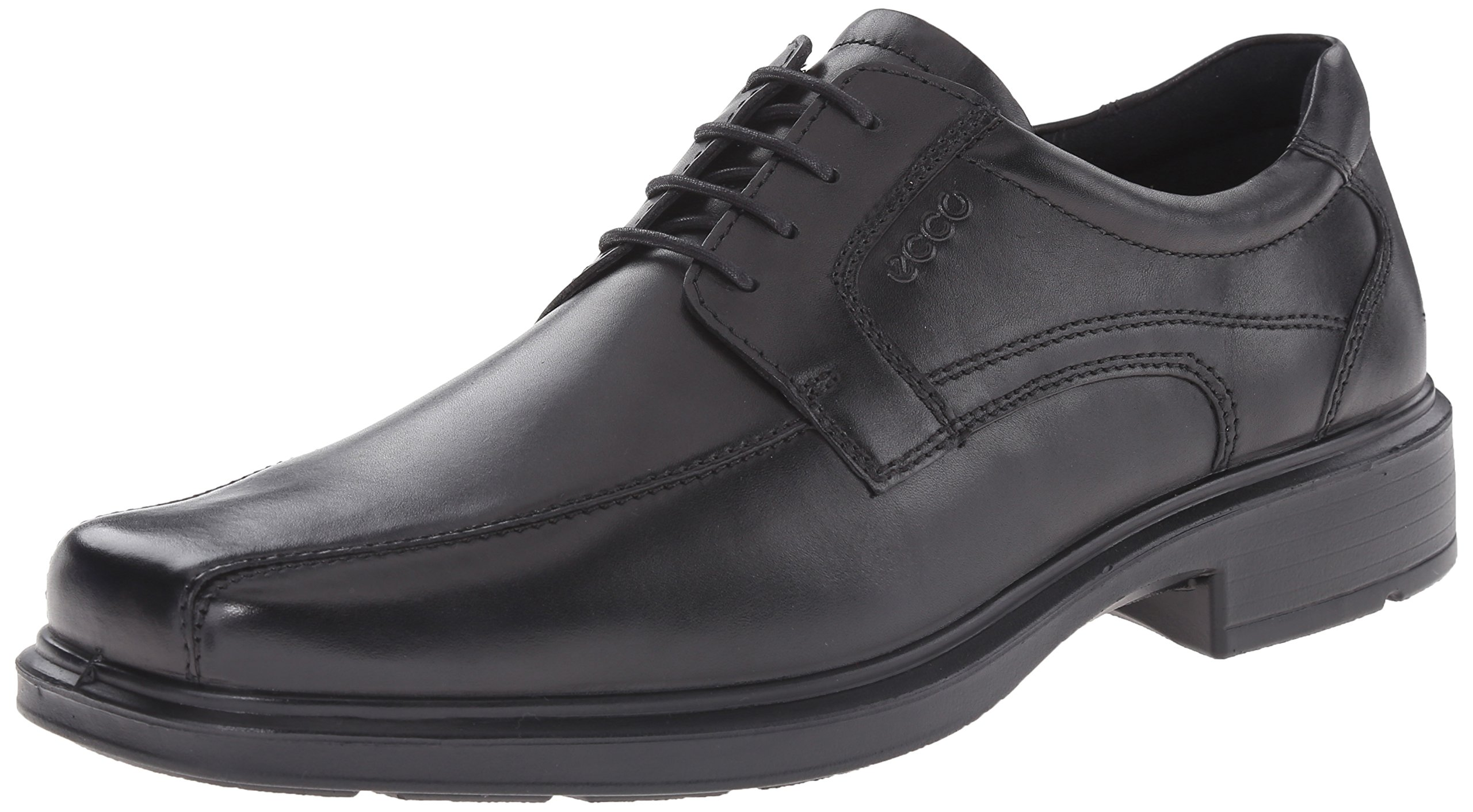 ECCO Men's Helsinki Oxford,Black,50 EU (US Men's 16-16.5 M)