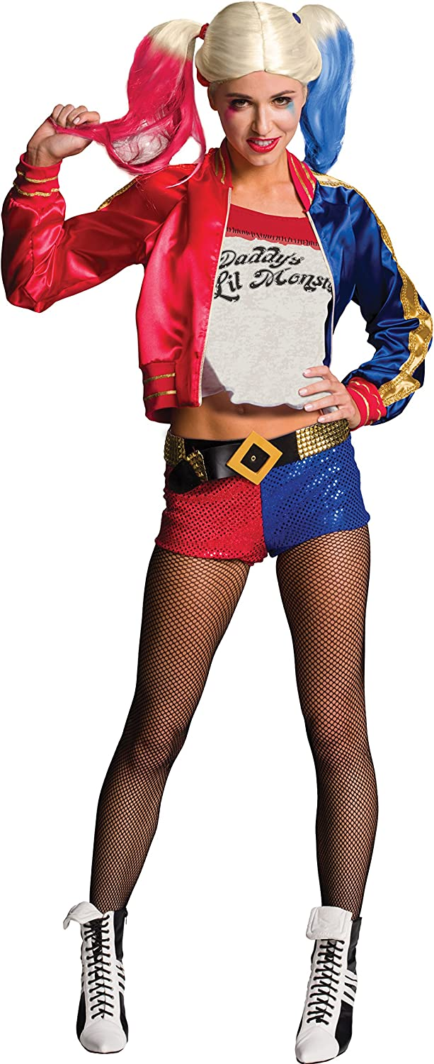 Rubies Official Harley Quinn Suicide Squad para mujer, Talla S (6 ...