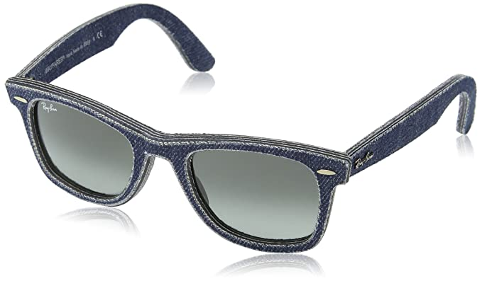 41aadb1559 Amazon.com  Ray-Ban Unisex RB2140 50mm Blue Denim One Size  Ray-Ban  Shoes
