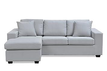 Canapé Dossier Furniture Haut D'angle Reversible 3 R Fanilife Places CxBrdotshQ
