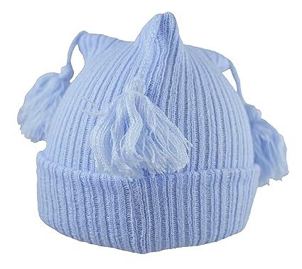 Pesci Baby Boys Girls Beanie Hat with Tassels  Amazon.co.uk  Clothing 7c4f1c9ffc2