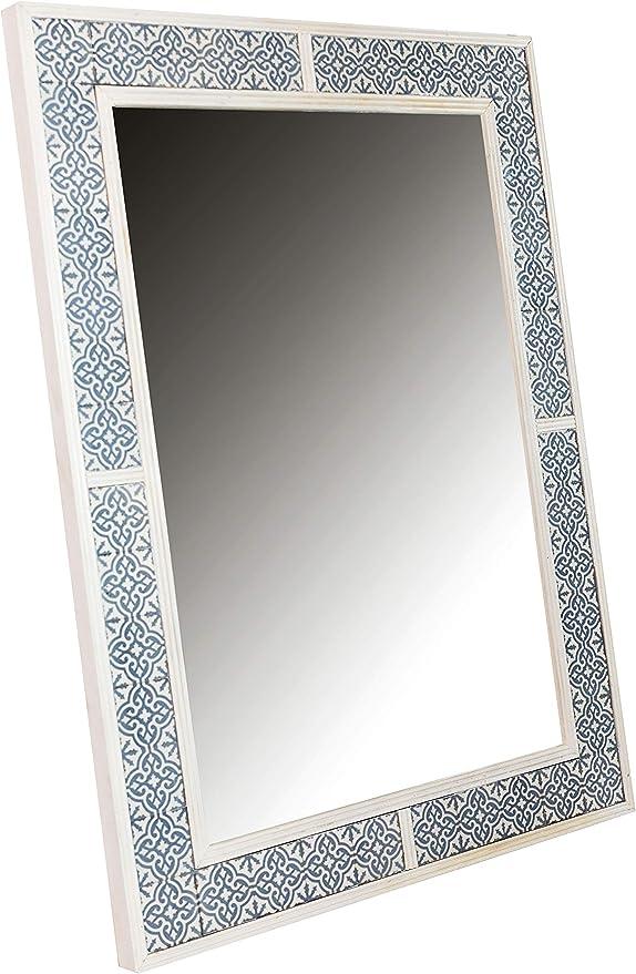 Orient Spiegel Wandspiegel Bab 108cm Gross Weiss Grosser