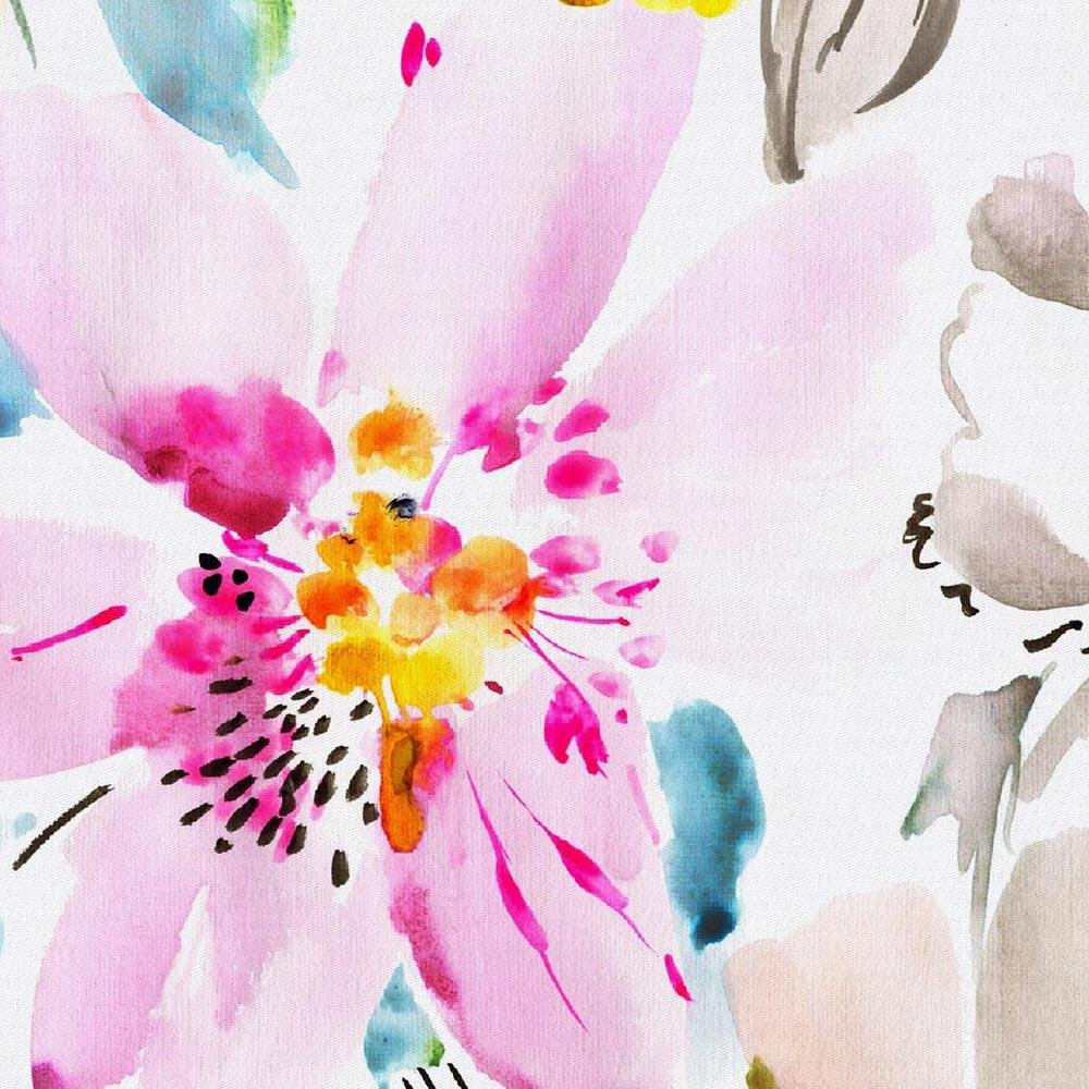 Carousel Designs Watercolor Floral Cradle Sheet