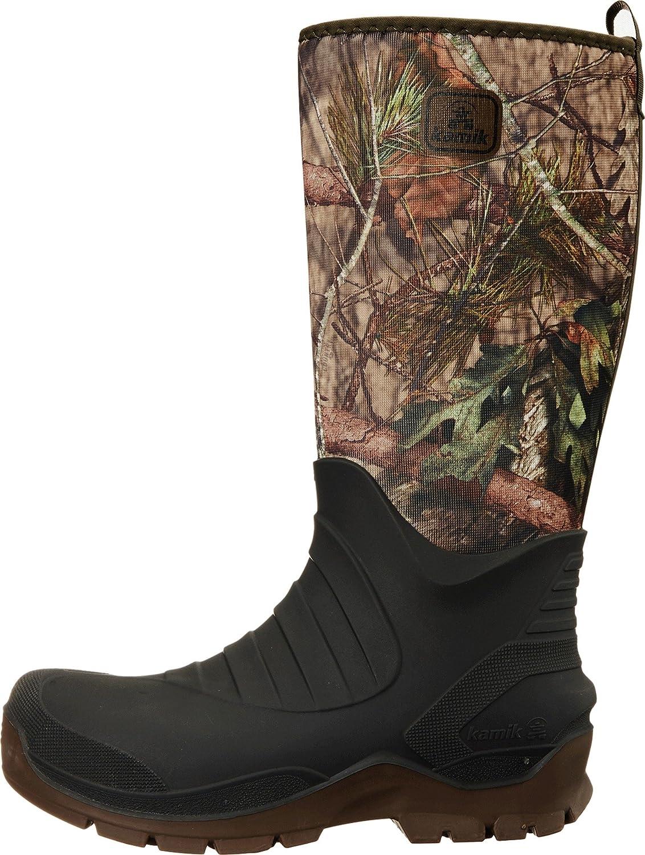 Kamik Huntsman, Stivali di Gomma Uomo Mehrfarbig Mossy Oak Country Camo Mco