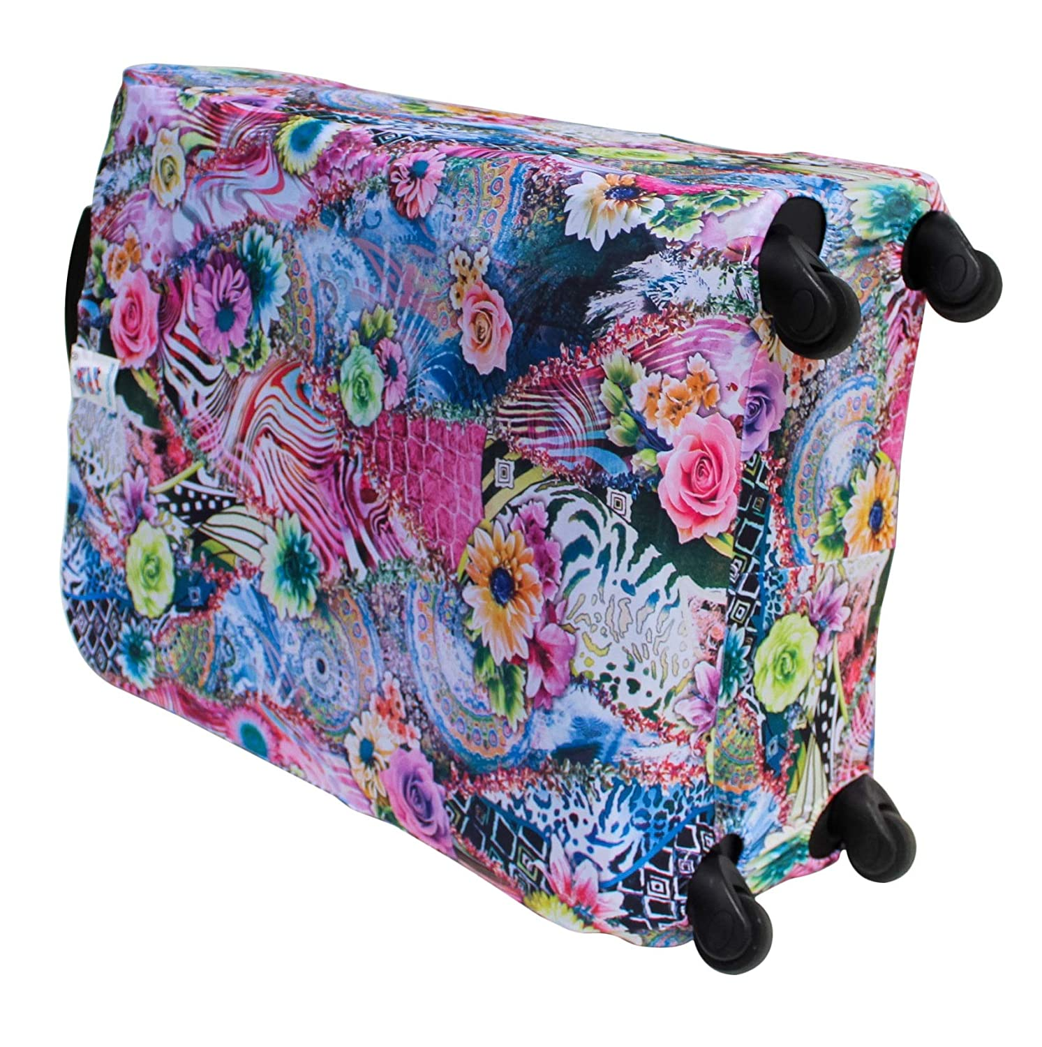 Green Whimsical Suitable for suitcases 15 to 18 by 23 to 26 or 40 to 48cm by 60 to 65cm Medium Snuggage Luggage Cover