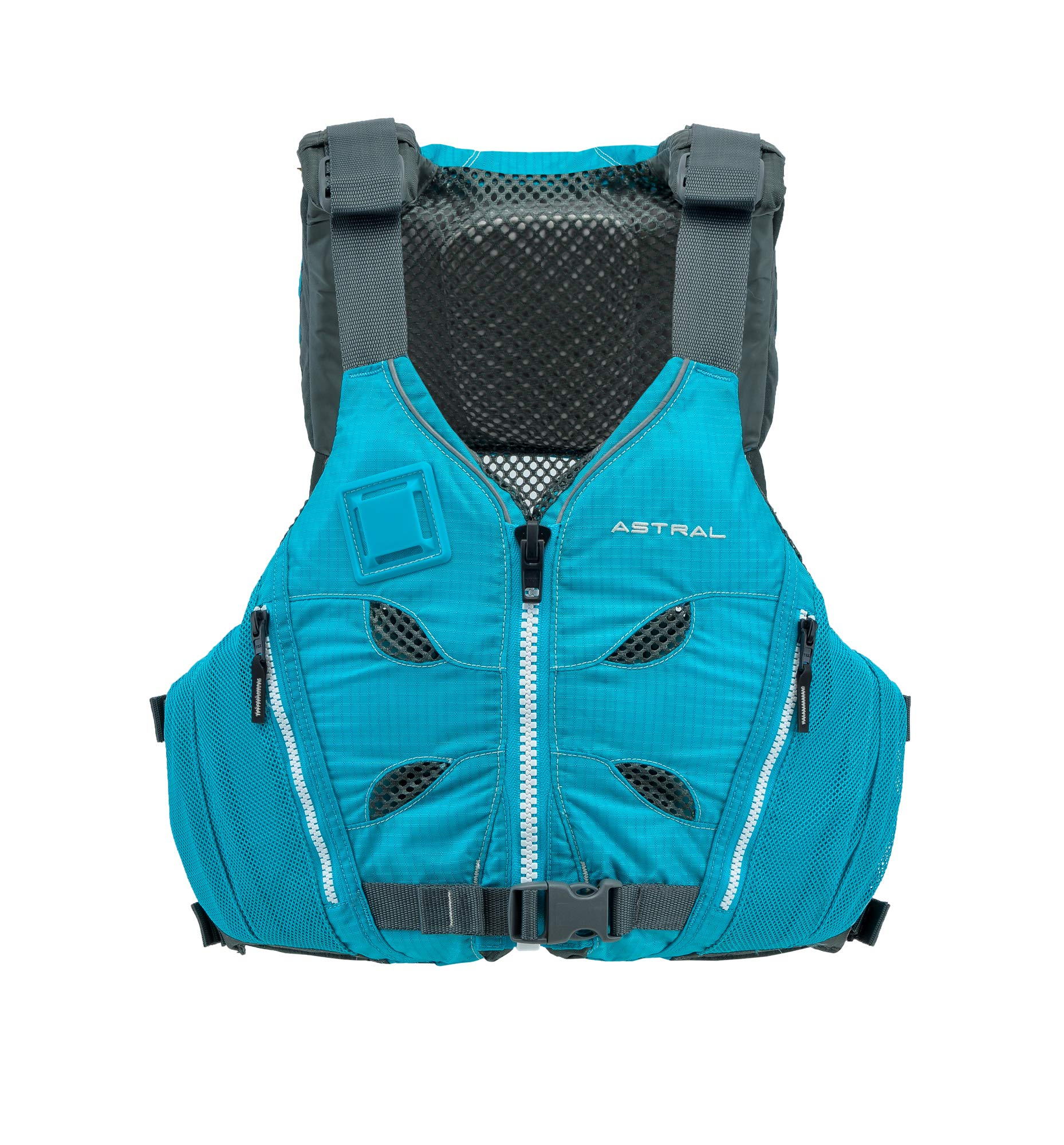 Astral V-Eight Life Jacket PFD for Recreation, Fishing and Touring Kayaking, Glacier Blue, Small/Medium by Astral