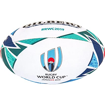 Gilbert RWC Replica Balon Rugby, Adultos Unisex, 5: Amazon.es ...