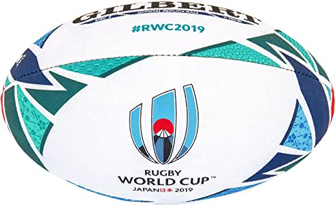 Gilbert RWC Replica Balon Rugby, Adultos Unisex, 5: Amazon.es ...