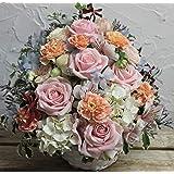 誕生日 お祝いおまかせピンクバラ 生花のアレンジメント(PV) M サイズ ・誕生日祝 結婚祝 開店祝 などギフトに。◎完売につき最短3/2(土)以降のお届けとなります。ただし、休業日に つき3/10(日)お届け不可。