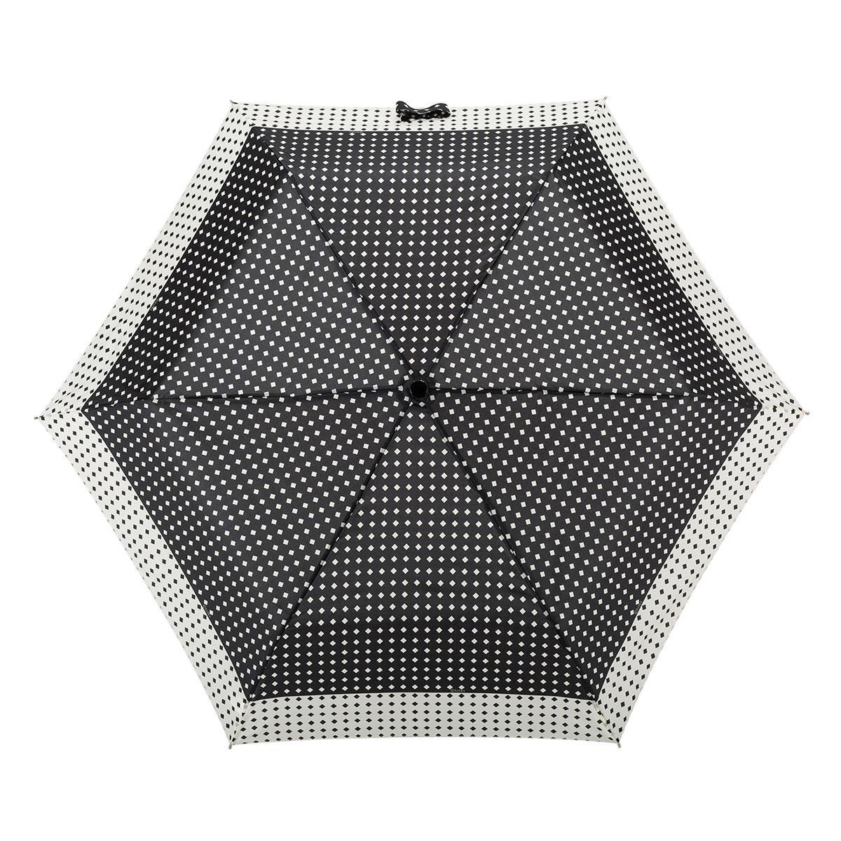 Isotoner – Paraguas supermini para mujer, diseño de lunares, color blanco y negro: Amazon.es: Zapatos y complementos