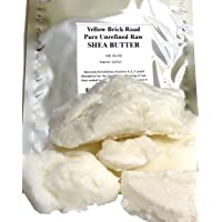 Yellow Brick Road 100% Raw Unrefined Shea Butter-African Grade a Ivory 1 Pound (...