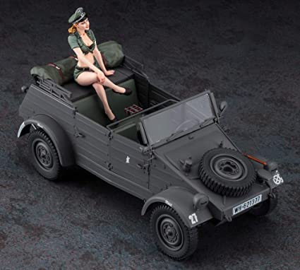 1942 PKW.K1 Kübelwagen Type 82 mit Figur 1:24 Hasegawa 52253 wieder neu 2020