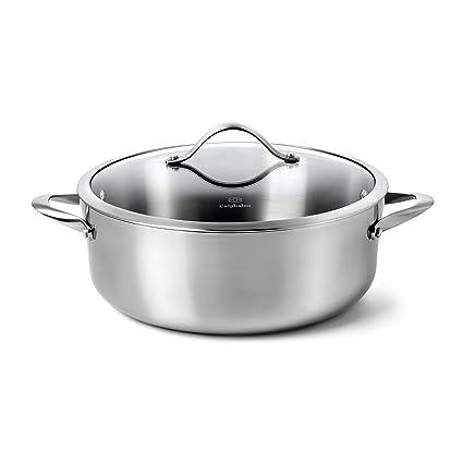 Amazon Calphalon Contemporary Stainless Steel Cookware Dutch