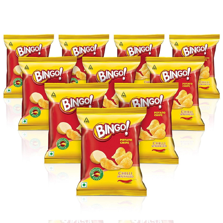 Bingo! Original Style Chill Potato Chips Bag, 520 g with Combo