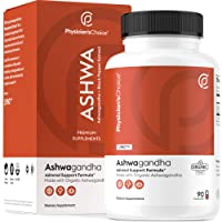 Ashwagandha 1950mg Organic Ashwagandha Root Powder with Black Pepper Extract, Stress Relief, Mood Support, 90 Veggie Ashwagandha Capsules