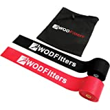 WODFitters Floss Bands for Muscle Compression Tack & Flossing, Mobility & Recovery WODs - Latest Technology - Choose from 2""
