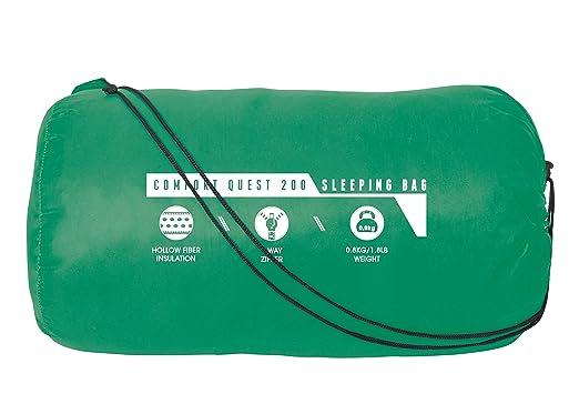Pavillo 68054-03 Comfort Quest 200 - Saco de Dormir (220 x 75 x 50 cm), Color Morado y Turquesa o Verde y Turquesa Aleatorio: Amazon.es: Deportes y aire ...