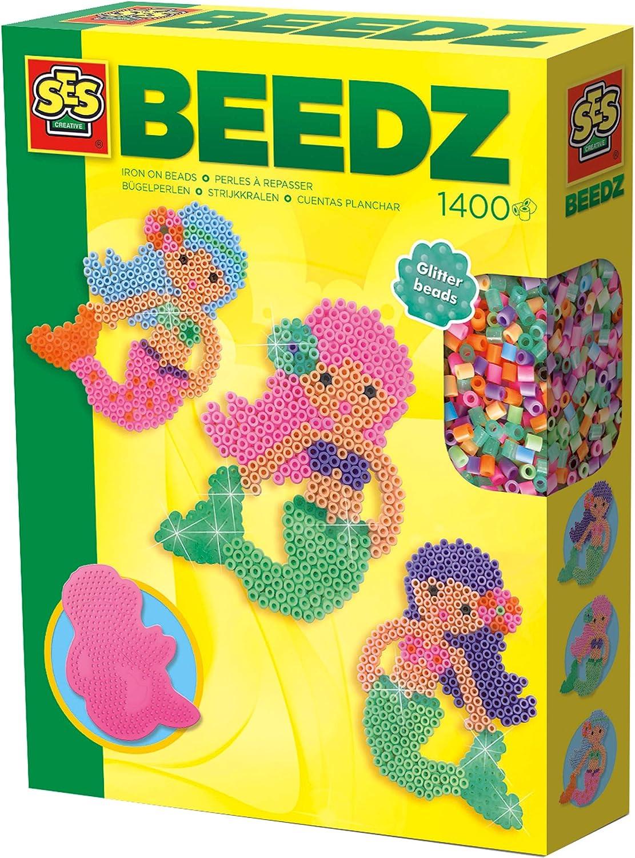 SES Iron-on Beads Mermaid Set