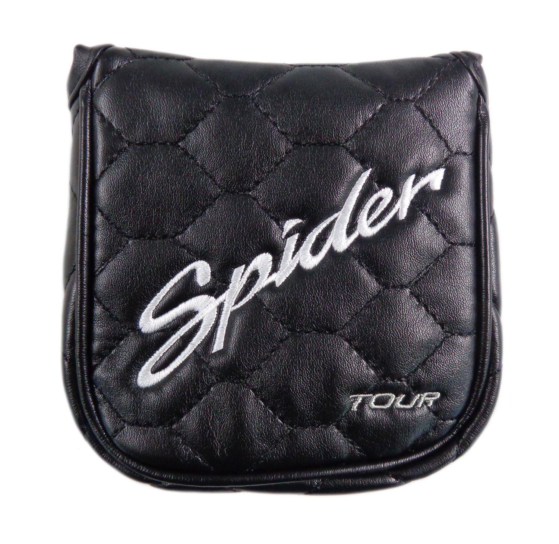 (スパイダー) Spider Daddy Long Legs TAMA3439 マレット パター用 ヘッドカバー ブラック B06XXX7LNG