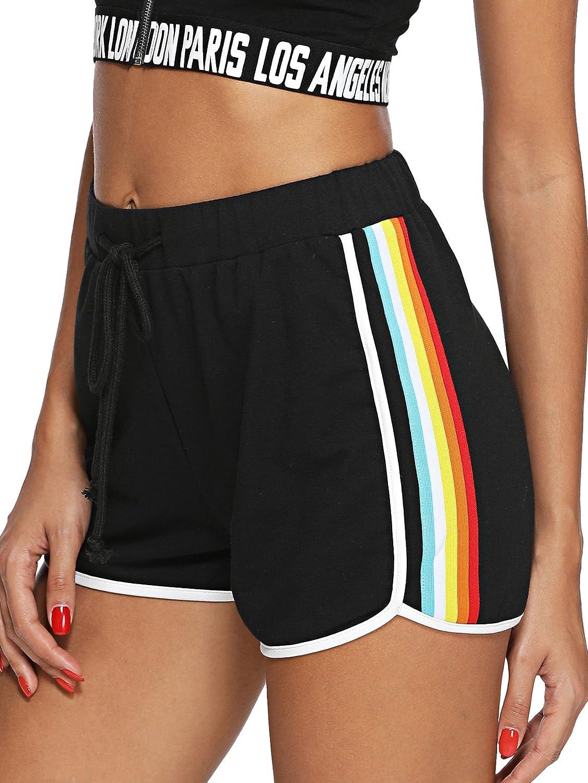 SweatyRocks Women's Workout Yoga Hot Shorts Sports Pants