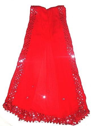 a837b763e29 Jyoti Women's Chiffon Dupatta (Sc-143,Red,2.20Mtr.): Amazon.in: Clothing &  Accessories