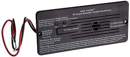 MTI INDUSTRIES 35742BL 12V CO LP Gas Alarm