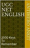 UGC NET English: 2000 Keys To Remember