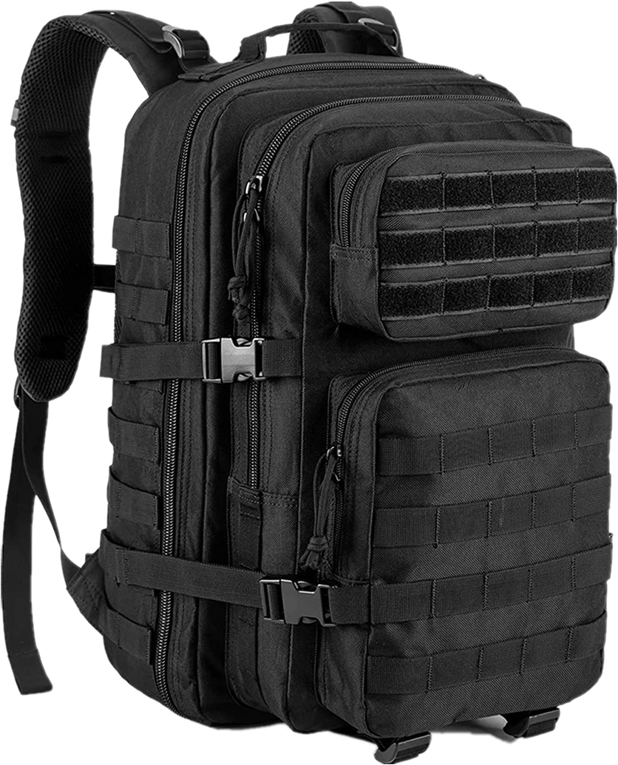 GUGULUZA Military Tactical Molle Backpack Army 3 Day Assault Pack Molle Bag Rucksack for Hunting Camping