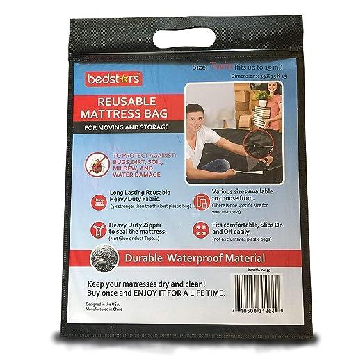 Amazon.com: Bolsa de colchón reutilizable, Poliéster ...