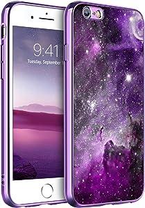 BENTOBEN iPhone 6S Plus Case, iPhone 6 Plus Case, Slim Fit Glow in The Dark Hybrid Hard PC Soft TPU Bumper Protective Girls Women Boy Men Cases for iPhone 6S Plus/iPhone 6 Plus 5.5