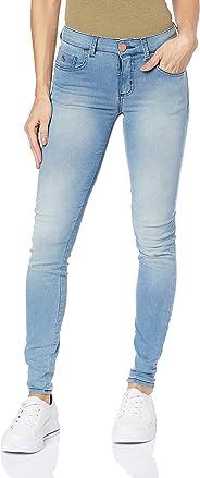 Calça Jeans Marisa skinny, Forum, Feminino, Índigo, 44