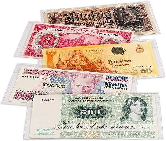 Fundas protectoras para billetes de banco BASIC, 1658 x 75m: Amazon.es: Juguetes y juegos