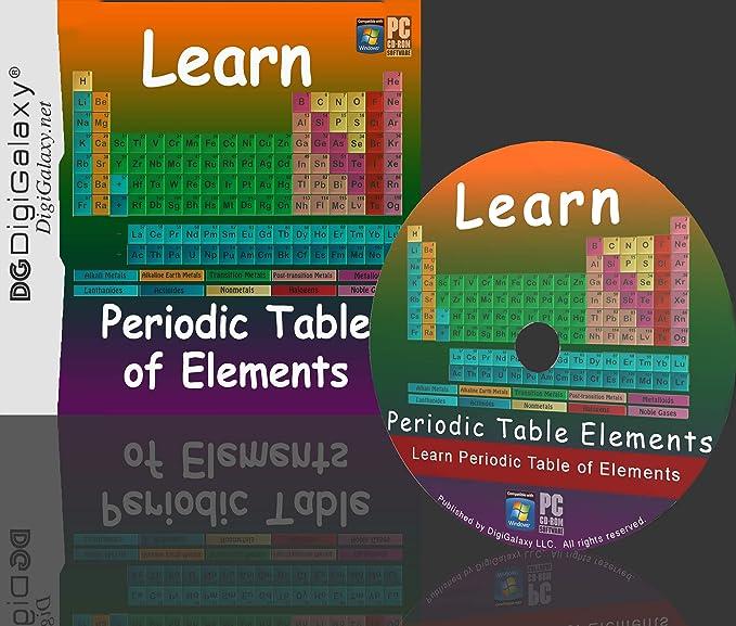 Amazon Com Learn Periodic Table Of Elements Study Practice
