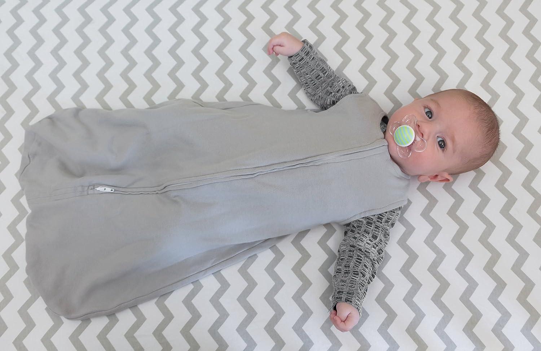 Grey Chevron And Polka Dot Elys /& Co Cot Sheet Crib Sheet Set 2 Pack 100/% Jersey Cotton For Baby Girl