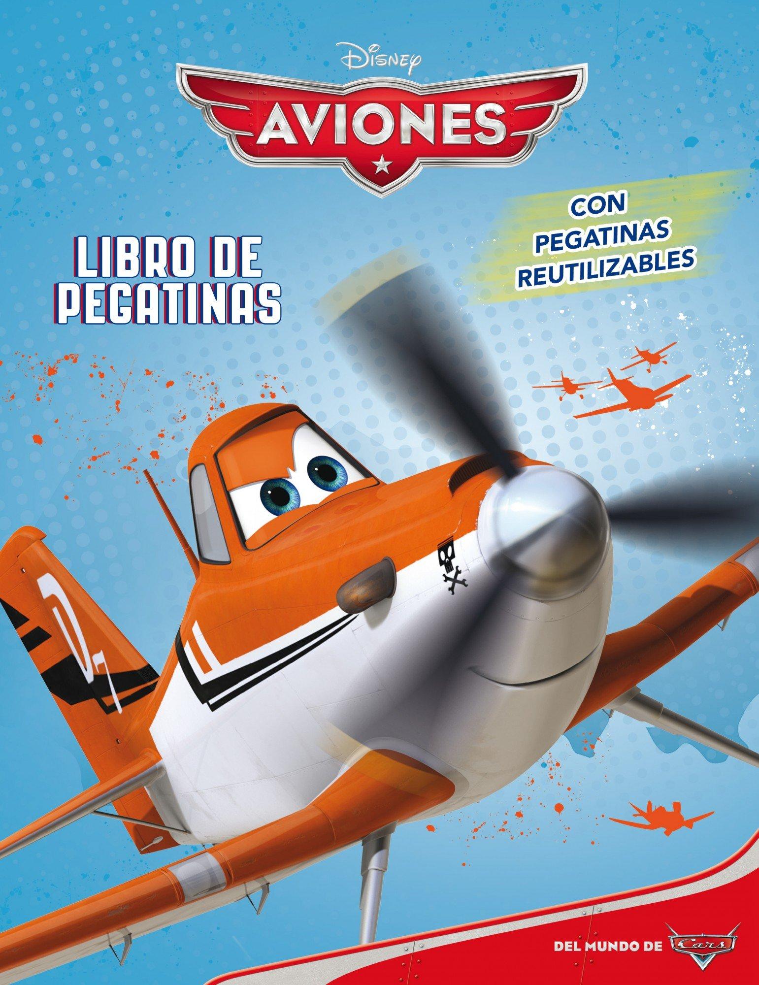Aviones. Libro de pegatinas (Disney. Aviones): Amazon.es: Disney: Libros