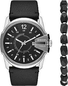 Diesel Reloj Analogico para Hombre de Cuarzo con Correa en Piel DZ1907