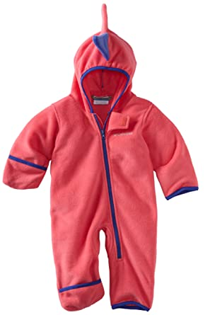 71b5554c0 Amazon.com: Columbia Unisex Baby Little D Bunting Fleece Bodysuit: Infant  And Toddler Snowsuits: Clothing