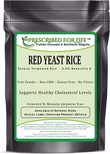 Red Yeast Rice – 0.4 Standardized Extract Powder Monascus purpureus , 12 oz 340 g