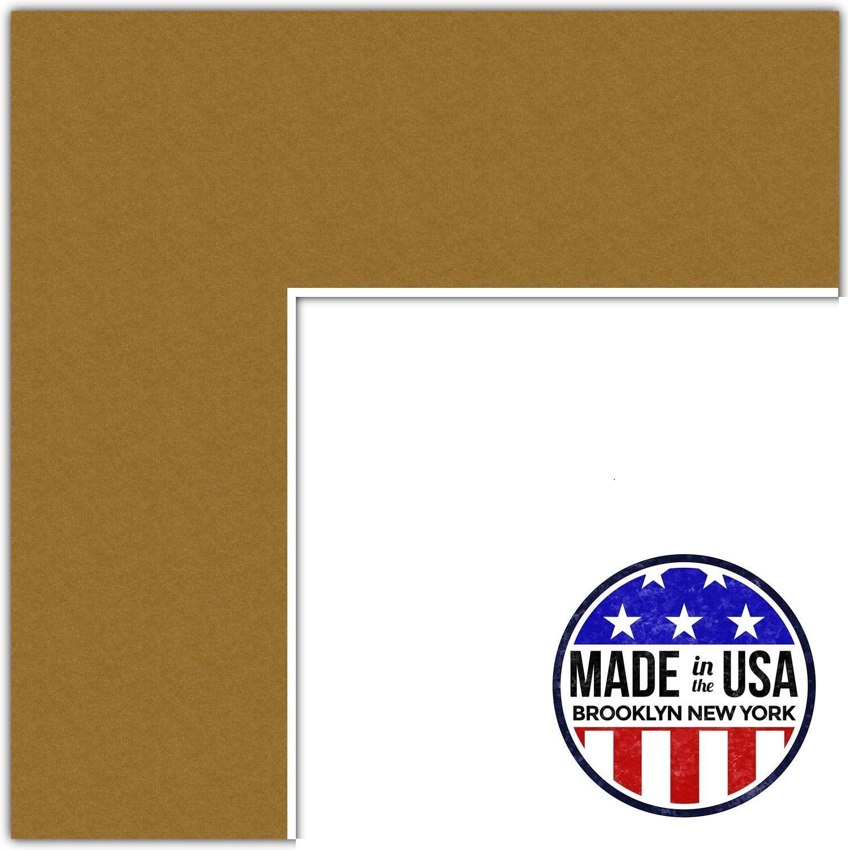 カスタムマット 10x13 ブラウン MAT-135-10x13-El Dorado Classic ゴールド 10x13